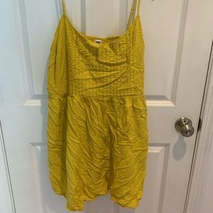 Yellow Floral Old Navy Sundress